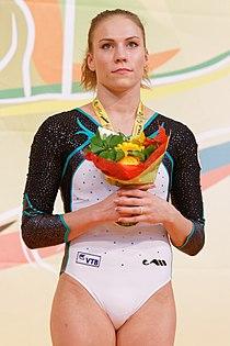 2015 European Artistic Gymnastics Championships - Floor - Medalists 08.jpg