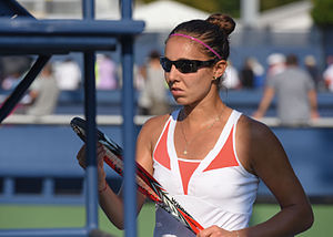 Mihaela Buzărnescu - Buzărnescu at the 2015 US Open Qualifying