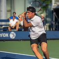 2015 US Open Tennis - Qualies - Jose Hernandez-Fernandez (DOM) def. Jonathan Eysseric (FRA) (20973215681).jpg