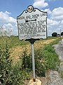 2016-07-29 13 06 05 Mason-Dixon Line marker at the north end of Maryland Route 63 (Greencastle Pike) and the west end of Pennsylvania Route 163 (Williamsport Pike) on the border of Washington County, Maryland and Franklin County, Pennsylvania.jpg