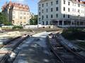 2016-10-02 road works at Berliner Platz (new track).png