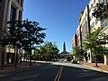 2016-10-09 15 53 31 View west along Virginia State Route 7 (King Street) at Diagonal Road in Alexandria, Virginia.jpg