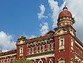 2016 Rangun, Dawny budynek Sądu Najwyższego (09).jpg