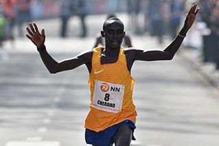 Lawrence Cherono Kenyan long-distance runner