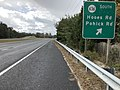 2018-10-29 13 04 52 View north along Virginia State Route 286 (Fairfax County Parkway) at the exit for Virginia State Route 636 SOUTH (Hooes Road, Pohick Road) in Burke, Fairfax County, Virginia.jpg