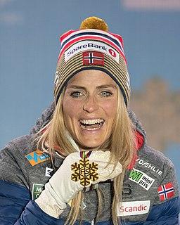 Therese Johaug Norwegian cross-country skier