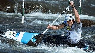 David Florence British slalom canoeist