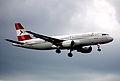 20ao - Austrian Airlines Airbus A320-214; OE-LBO@ZRH;05.04.1998 (5256678865).jpg