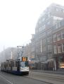 24 tram heads south on Vijzelstraat in Amsterdam Netherlands.png