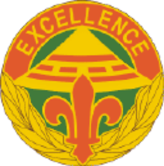2d Signal Brigade (United States) - Image: 2 Sig Bde DUI