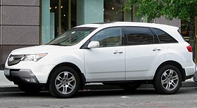 Acura Wiki on Acura Mdx   Wikipedia  The Free Encyclopedia