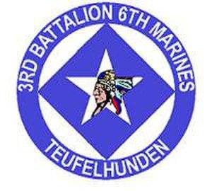 3rd Battalion, 6th Marines - 3/6 Insignia