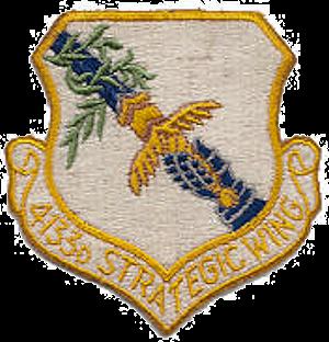 4133d Strategic Wing - SAC - Emblem