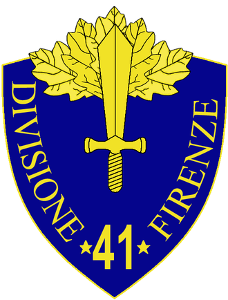 41st Infantry Division Firenze - 41st Infantry Division Firenze Insignia