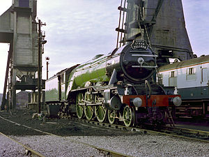 The Flying Scotsman (1929 film) - The film featured the famous LNER Class A3 ''Flying Scotsman''