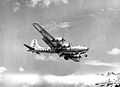 498th Bomb Group B-29 Landing Isley Field Saipan.jpg