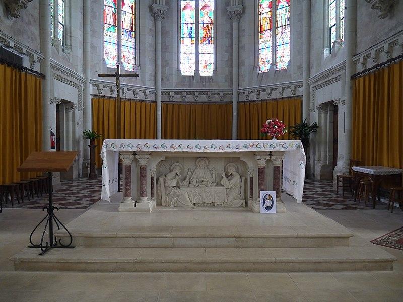 L'autel.