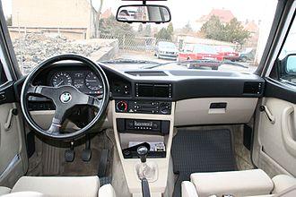 BMW 5 Series (E28) - Interior