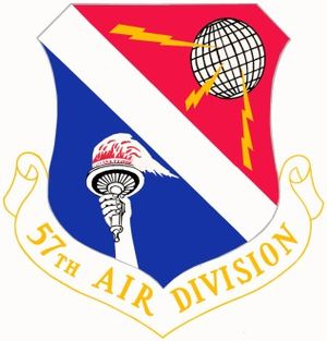 57th Air Division - Image: 57th Air Division crest