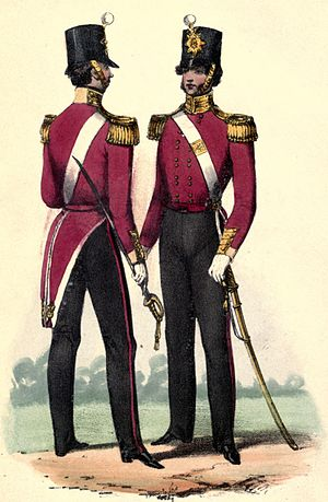 67th (South Hampshire) Regiment of Foot - Regimental uniform, 1840s