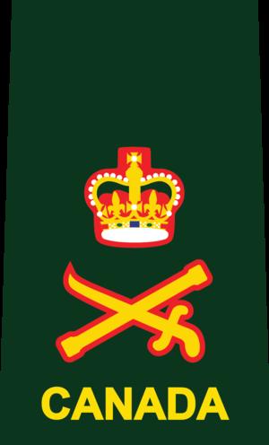 Lieutenant-general (Canada) - Image: 9 LGEN DEU(SHIRT)