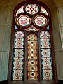 9 Pane Stained Glass with Arch Eldridge Street Synagogue.jpg