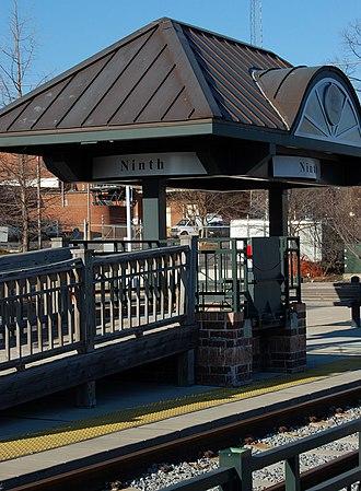 9th Street station (Charlotte) - Image: 9th Street Station