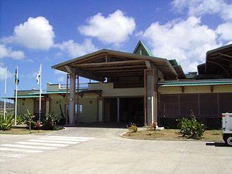 Sir Gaëtan Duval Airport - Image: Aéroport de Plaine Corail