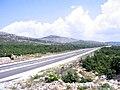 A1 highway near Perković, Croatia.jpg