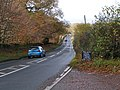 A3052 heading west from the Halfway Inn - geograph.org.uk - 1595582.jpg