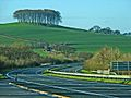 A30 (Westbound) from a lay-by adjacent to the River Wolf - geograph.org.uk - 316300.jpg