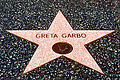 A374, Greta Garbo star, Hollywood Walk of Fame, California, USA, 1991.JPG