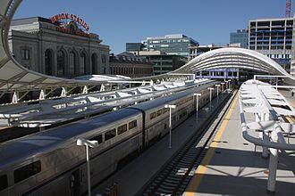 Denver Union Station - The California Zephyr, 2016