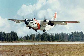 Fairchild C-123 Provider - A United States Coast Guard HC-123B Provider from CGAS Miami.