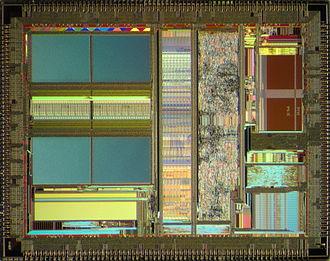 Am5x86 - AMD Am5x86 die shot