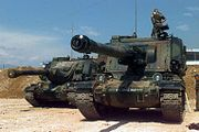 AMX AuF1, 40e régiment d'artillerie, Implementation Force, 1996