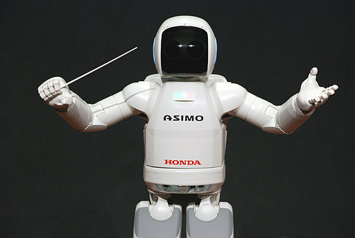ASIMO Conducting Pose on 4.14.2008