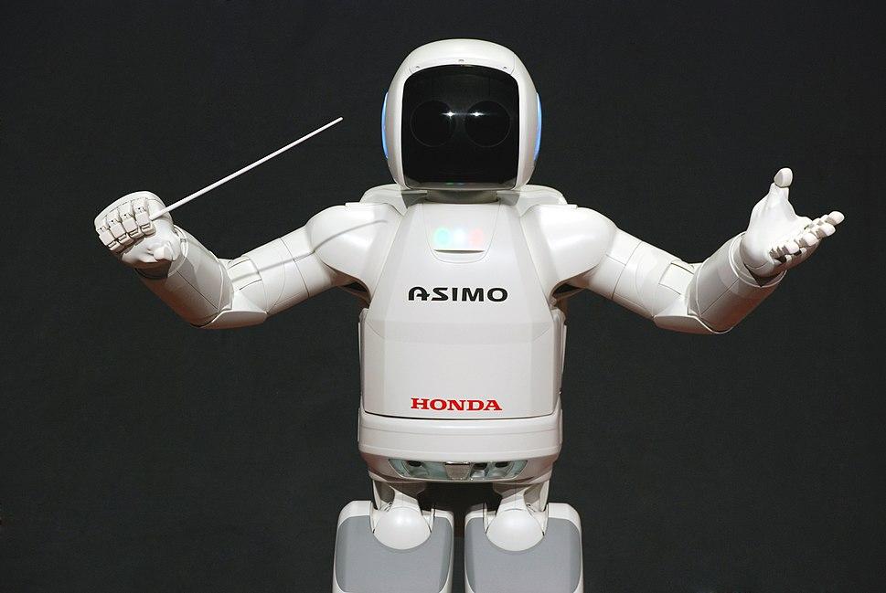 ASIMO Conducting Pose on 4.14.2008