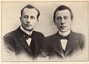 Sergei Rachmaninoff - Alexander Siloti and Rachmaninoff.