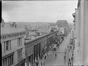 Timeline of Exeter - Queen Street, Exeter, 1943