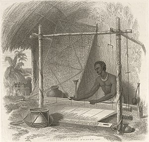 Charles D'Oyly - Image: A Tantee or Indian weaver