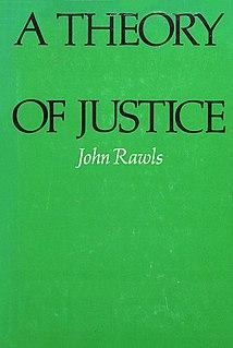 <i>A Theory of Justice</i> Book by John Rawls
