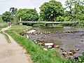 A choice of crossings over the river Wharfe - geograph.org.uk - 820087.jpg