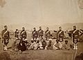 A group of Scottich soldiers and Indian men Wellcome V0037648.jpg