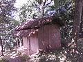 A hut inside inside Srimanta Sankardev Kalakhetra.jpg