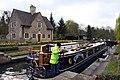 A narrowboat in Iffley Lock - geograph.org.uk - 1253460.jpg