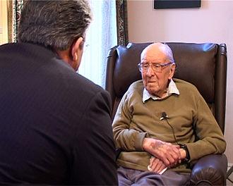 W. Montgomery Watt - Watt (right), interviewed by Ali Akbar Abdolrashidi