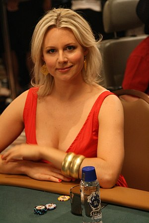 Abi Titmuss - Abi Titmuss at the 2008 World Series of Poker