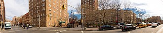 Abingdon Square Park - Image: Abingdon Square Park Panorama, New York, NY 10014, USA Jan 2013