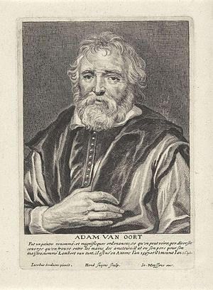 Het Gulden Cabinet - Image: Adam van Oort Jan Meyssens